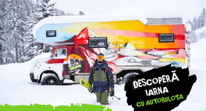 Book your Camper | iarna cu autorulota